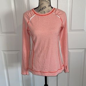 Lucy tech reflective running sweater top size S